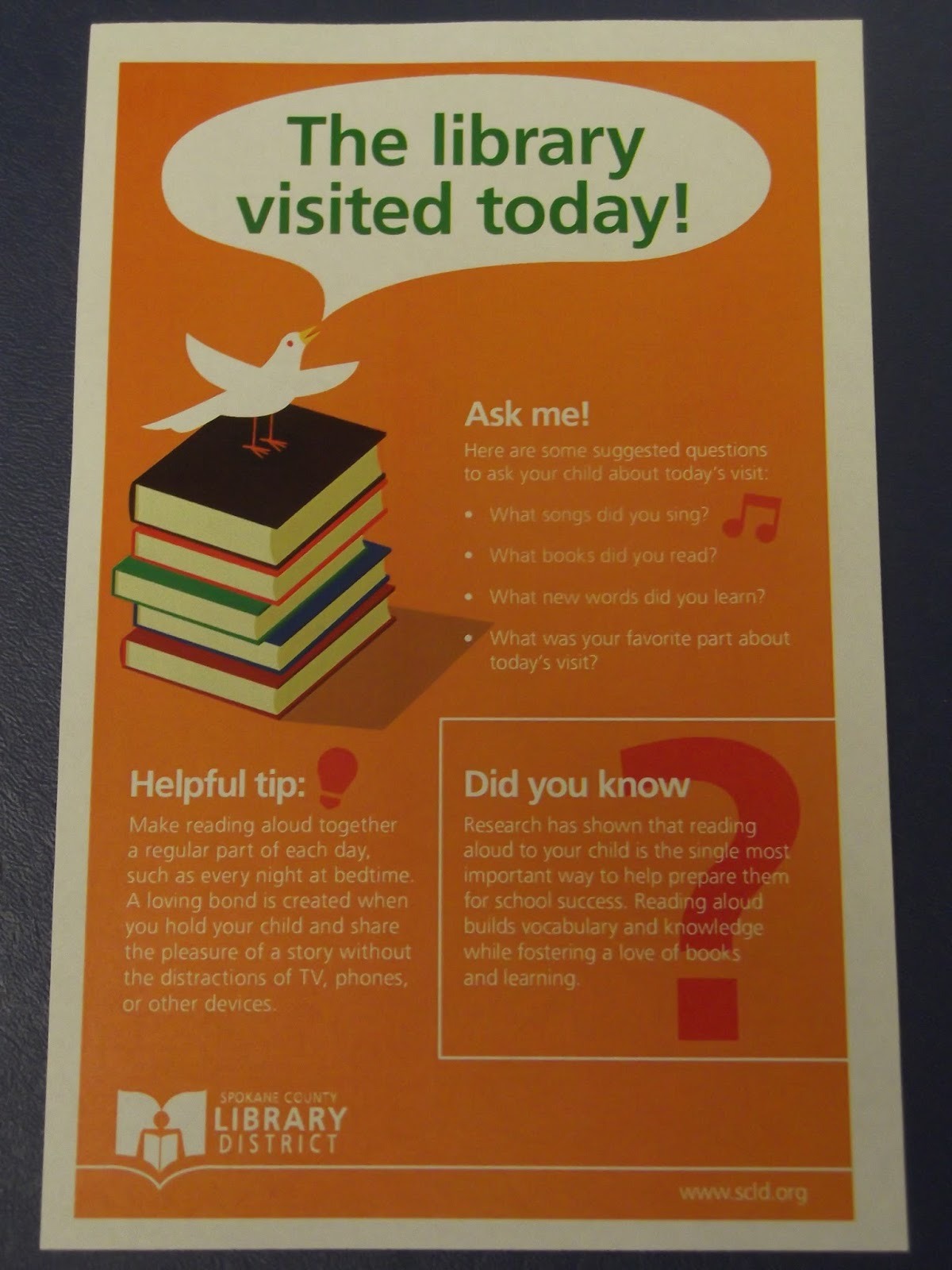 storytimes and more  outreach storytime flyer
