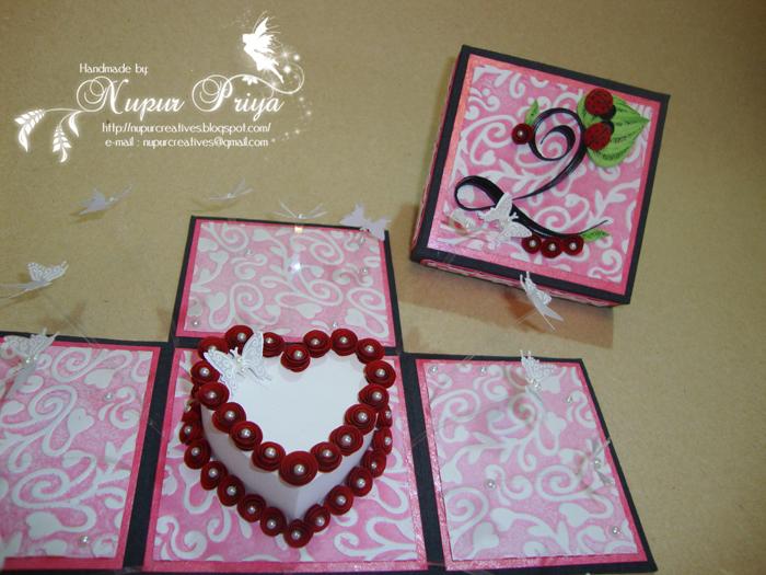 nupur creatives Anniversary Magic Explosion Box