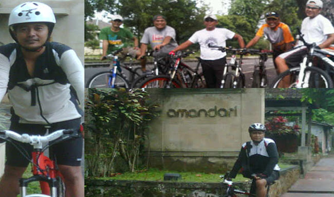 Minggu Gowes, 3  April 2011 ( Ujan Bales)