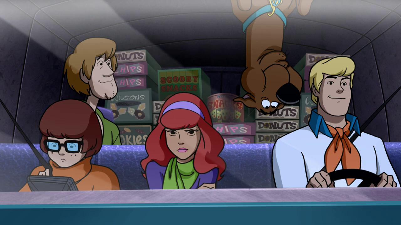 Scooby a Ameaça do Meca cachorro