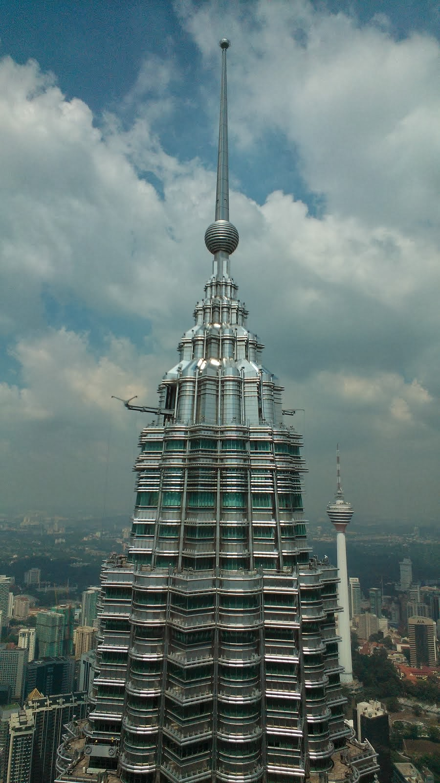 Petronas & Menara KL Tower