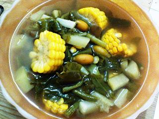 Resep Cara Membuat Sayur Asem Bening Sunda
