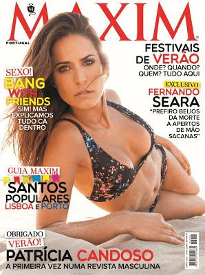 Patrícia Candoso, capa da Maxim (fotos)