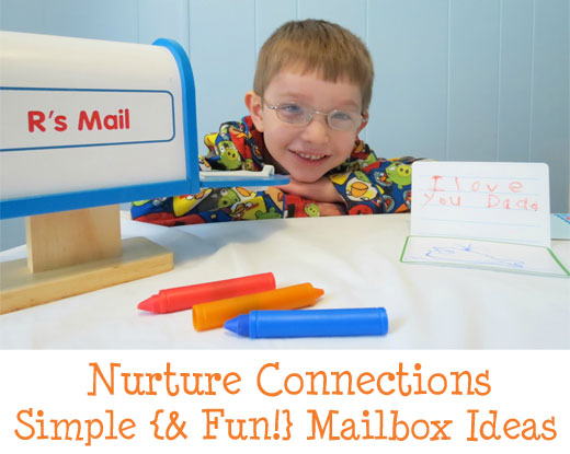 Nurture connections with family with mailbox fun