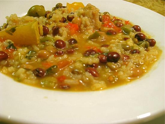 Gastronomia dominicana for Chambre de guandules dominicano