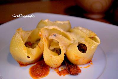 Pasta lumaconi | conchiglioni al gratin