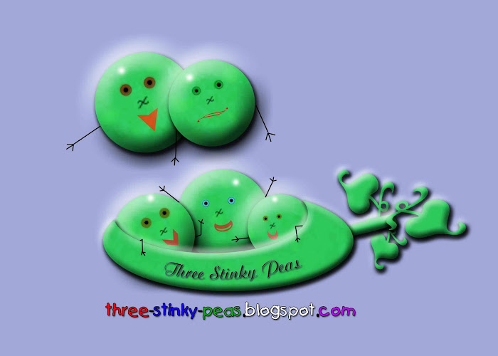 Three Stinky Peas: A View of Life in My Pod