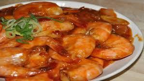resep udang saus padang pedas