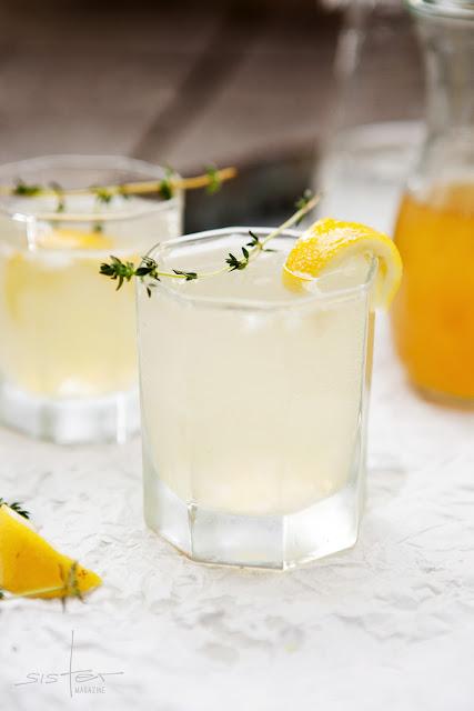 Zitronenhaltige Kaltgetränke im sisterMAG Nr. 7
