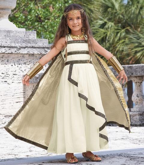 disfraz niña diosa griega