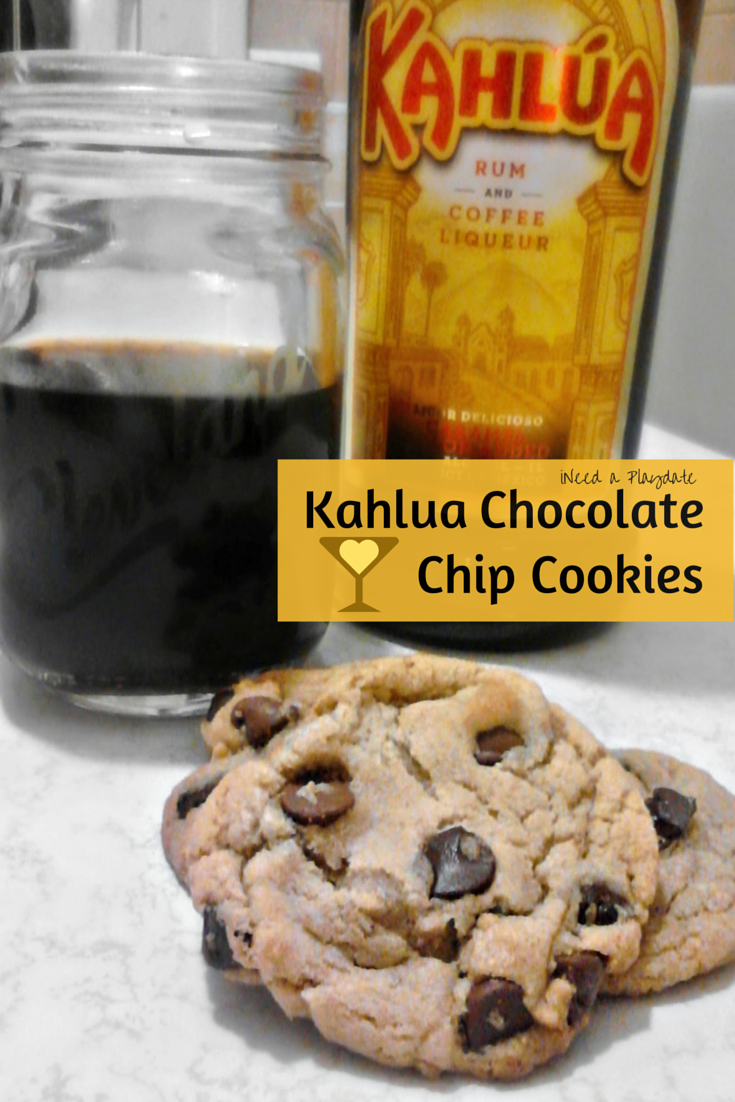 Kahlua Chocolate Chip Cookies