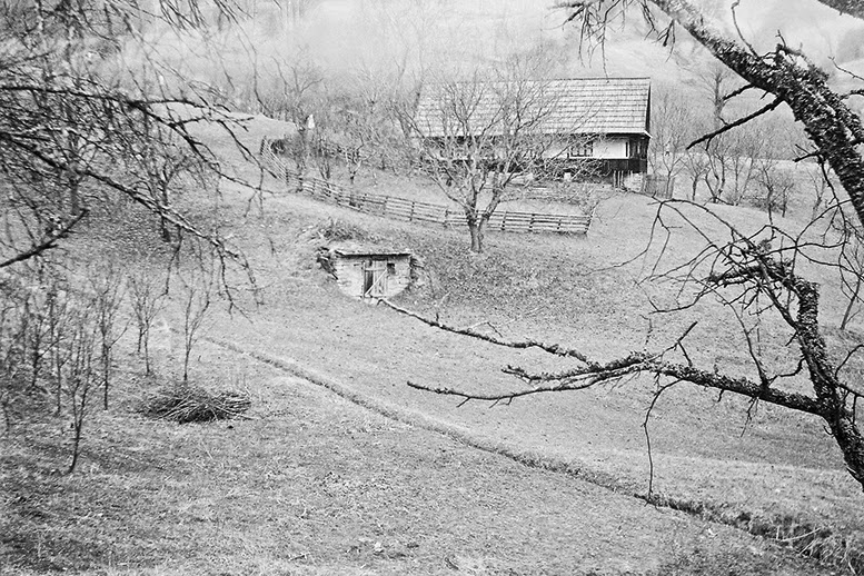 Gersa Transylvania Romania traditional house smena 8M kodak spring