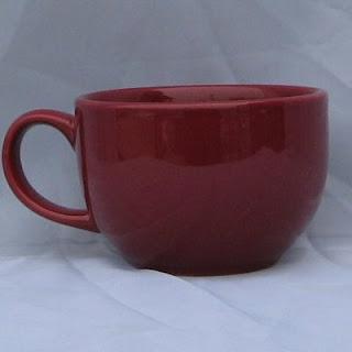 Buy a Burgundy Oversized Cappuccino Mug
