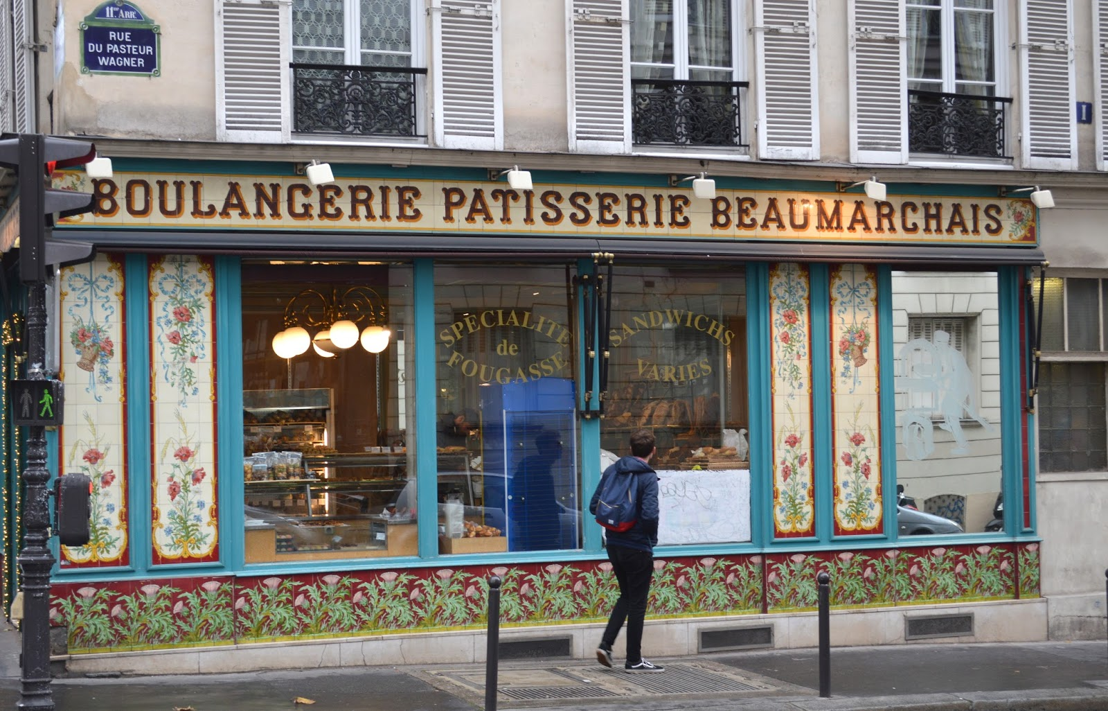 What do to for a weekend in Paris boulangerie boulevard Beaumarchais