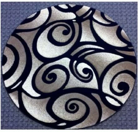 artistic printed render round modern area rugs  home cheap solution, black round area rugs, black round rugs cheap, black white round area rugs