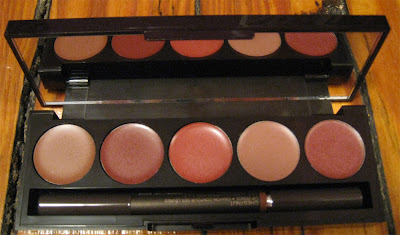 Laura Mercier, Laura Mercier Stickgloss Palette, makeup palette, lips, lipgloss, lip gloss, swatches