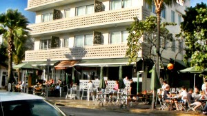 News Cafe auf dem Ocean Drive in Miami Beach