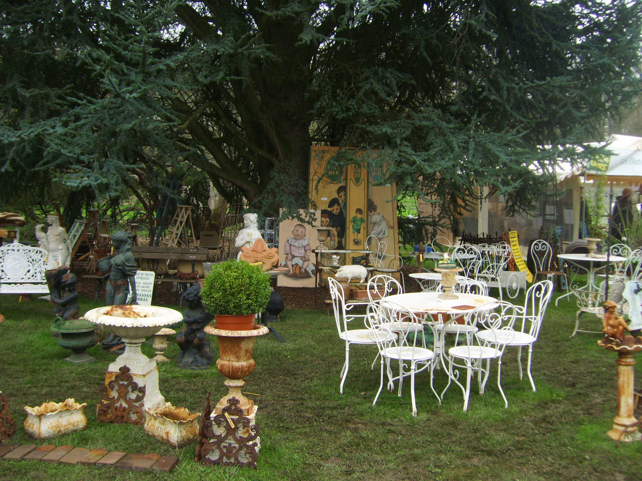 nibelle et baudouin escapade au salon des arts du jardin. Black Bedroom Furniture Sets. Home Design Ideas