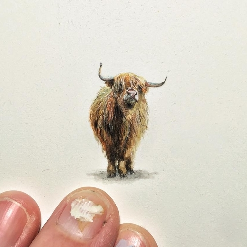26-Bad-Hair-Day-Karen-Libecap-Star-Wars-&-other-Miniature-Paintings-and-drawings-www-designstack-co