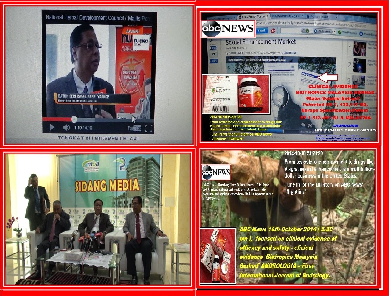 Kesilapan berita ABC News - fakta kajian klinikal oleh pihak lain dan produk dari pihak lain.