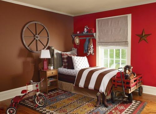 Boys Room Paint Ideas Red
