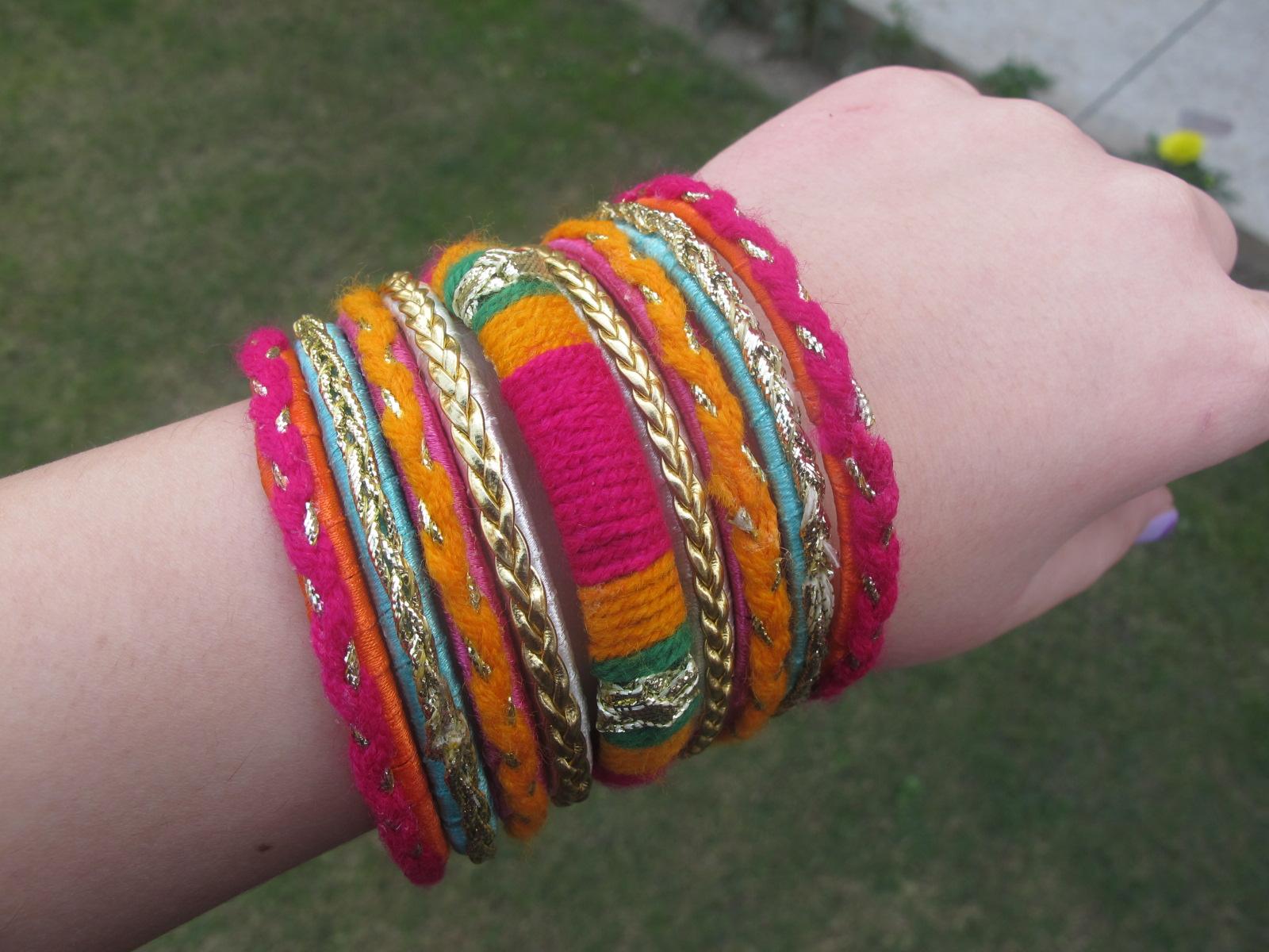 Glamarama: Pakistani Style: Ethnic/Desi Style Bangles From Milli