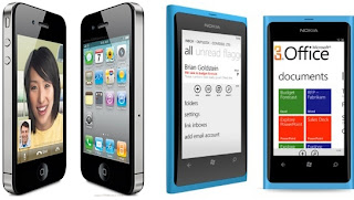 iphone 4s vs nokia lumia 800