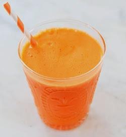 Suco de Cenoura, Abacaxi e Laranja