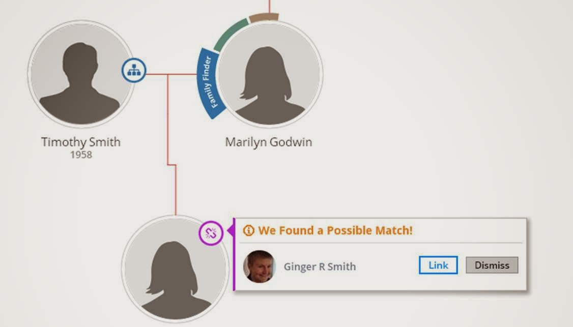 ftDNA Link match to Family Tree