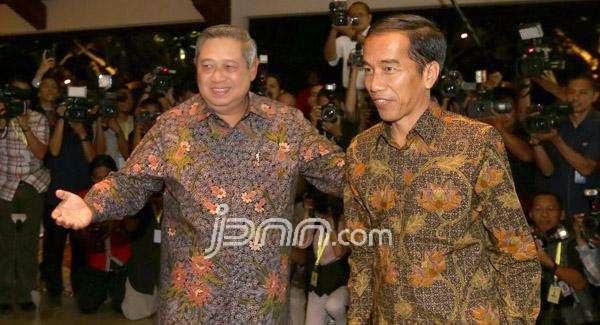 Jokowi dan SBY Perang Komentar di Media Sosial