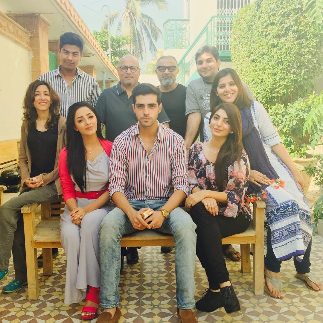 Sanam Chaudhry Signed Upcoming Pakistani film