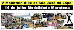 V Mountain Bike de São José da Lapa Modalidade Maratona 14 de Julho de 2013