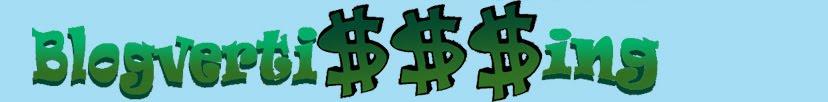 Blogverti$$$ing