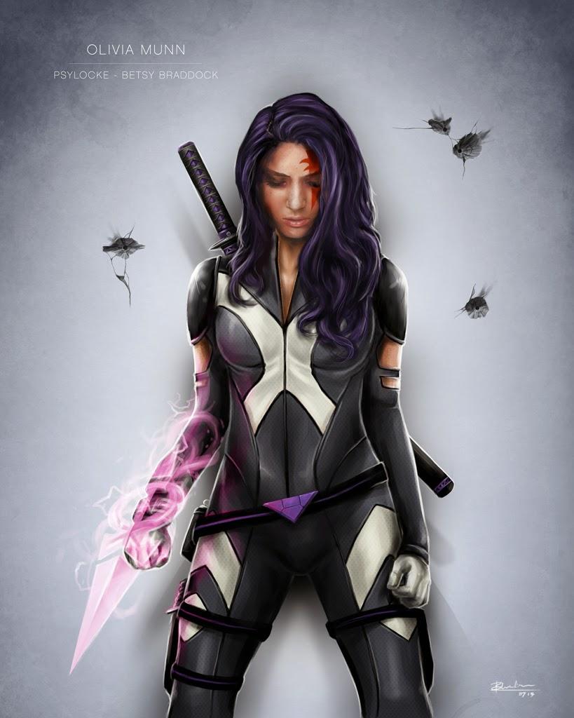 X-Men: Apocalypse Video Shows Olivia Munns Psylocke Moves