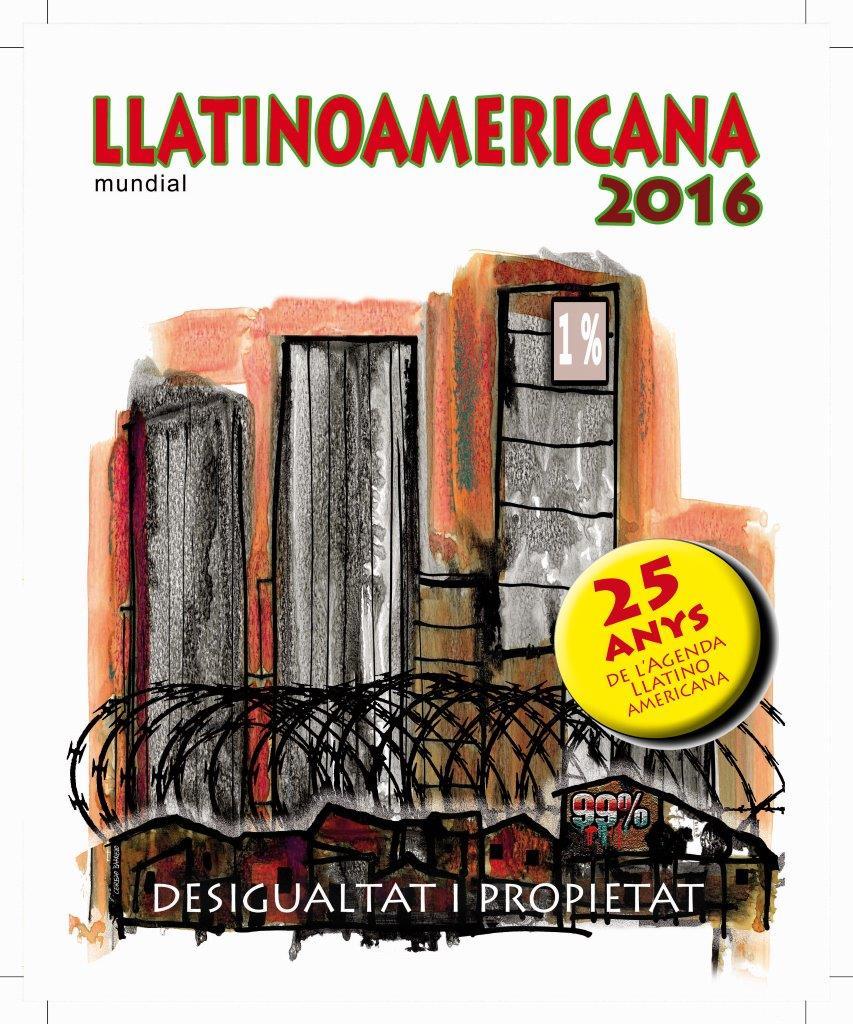 Agenda Llatinoamericana mundial edició 2016