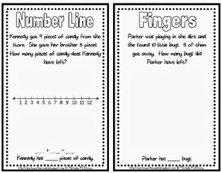 http://www.teacherspayteachers.com/Product/My-Little-Book-of-Subtraction-Strategies-981837