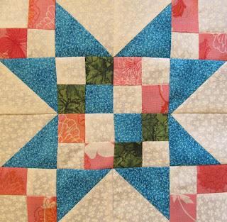 free star quilt pattern