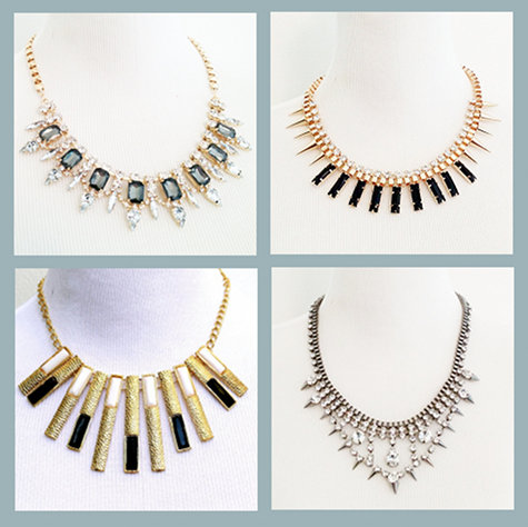 Elegant Jewelry Necklaces - Fashion Forward Evening Wear Accessories from Shop Ethereal