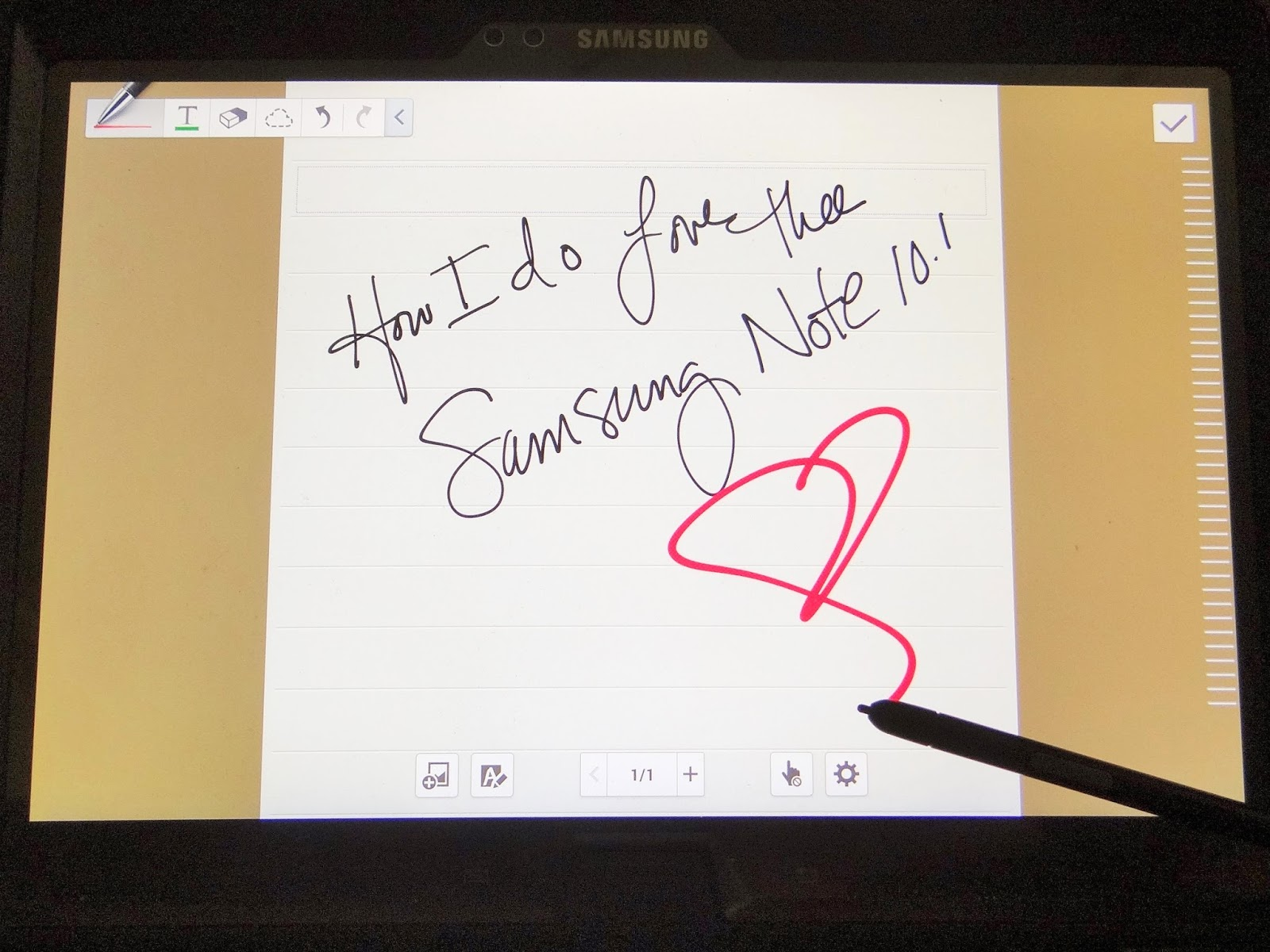 Ode To My #Samsung Galaxy Note 10.1 #VZWBuzz
