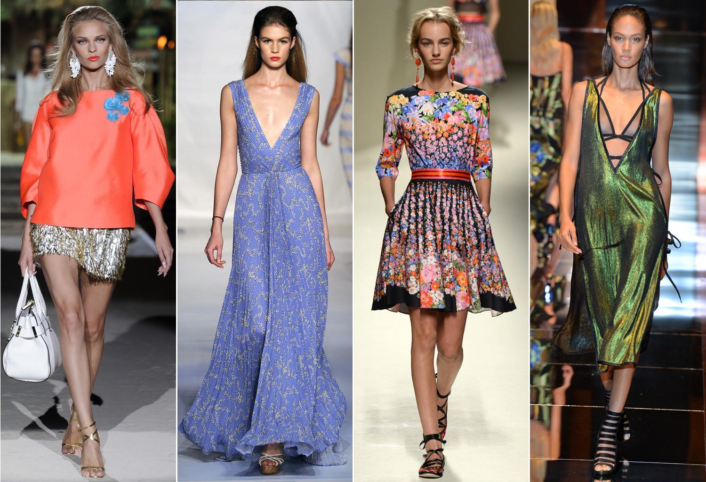 Мода платьев на лето 2018 фото
