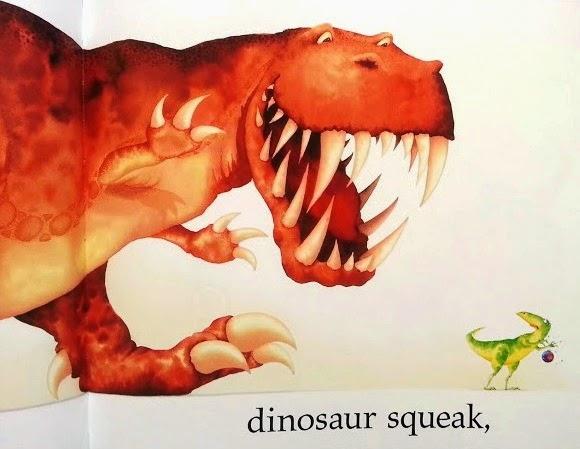 Dinosaur Roar 20th anniversary edition Squeak