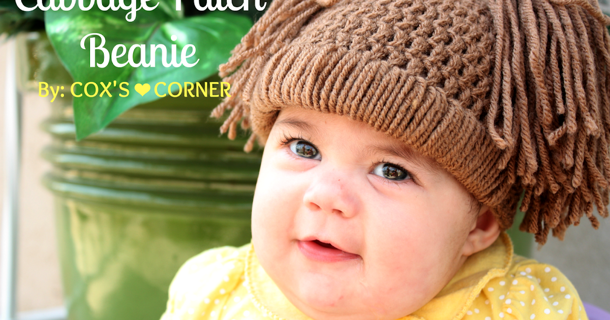 What Does The Cox Say Cabbage Patch Doll Hat Tutorial