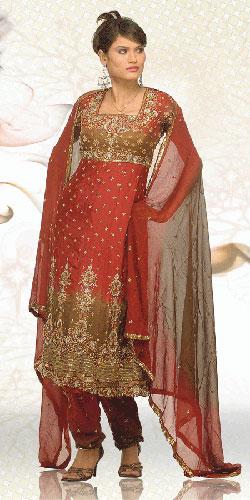 punjabi wedding suit