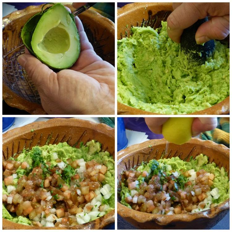 Elaboración guacamole