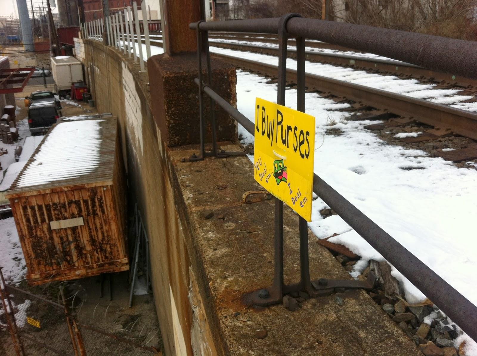 Huggie Bandit Signs