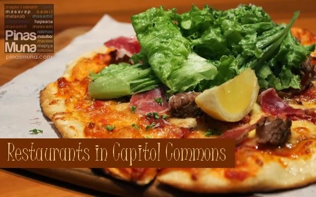 Restaurants in Capitol Commons