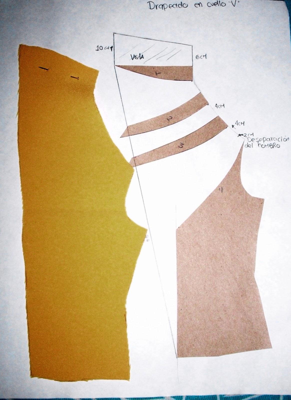 Blusa de escote desnuda abajo