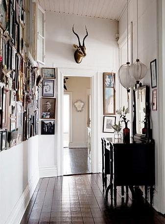 Interior Envy Nina Persson's Malmö Apartment Hallway