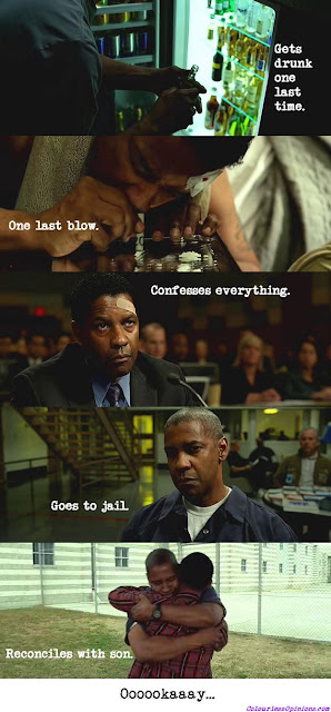 Flight 2012 denzel washington ending final scenes prison jail
