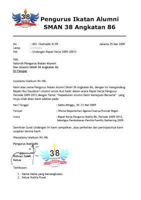 contoh surat undangan rapat sekolah